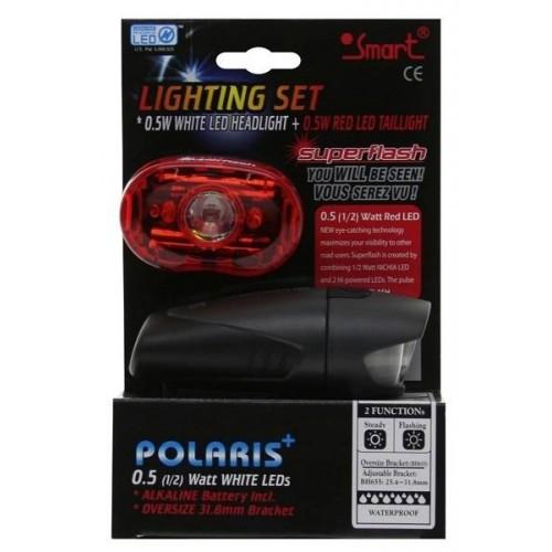Σέτ Φανάρια Ποδηλάτου Smart Polaris Lightning