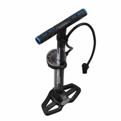 Τρόμπα ποδηλάτου δαπέδου XLC πλαστική με μανόμετρο