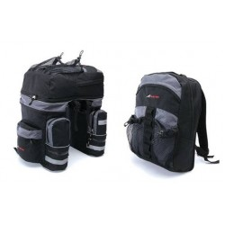 Τσάντα σχάρας ποδηλάτου Barbieri Triple Bag Back Pack